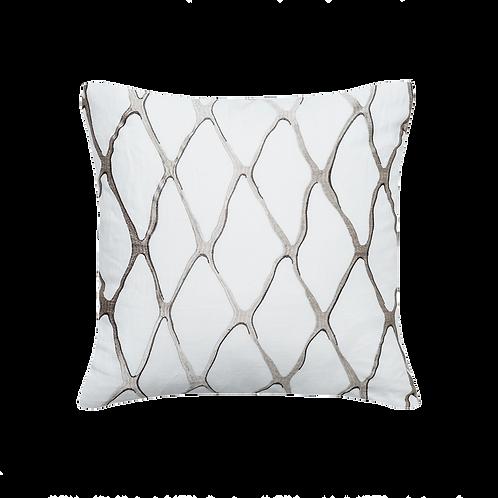 Tamara Taupe Pillow Cover