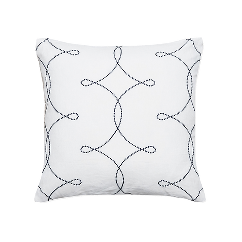 Alice Snow Pillow Cover