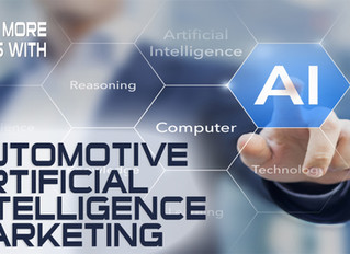 Let Automotive Artificial Intelligence Marketing Find Your Ideal Digital Conquest Prospects So Your