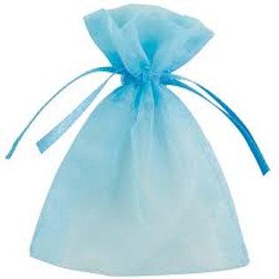 Light Blue Organza bags