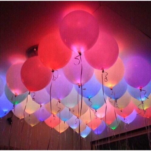 20 LED Light up balloons