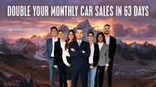 3-Step Roadmap To Double Your Monthly Car Sales in 63 days.