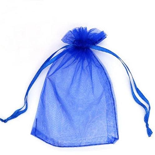 Dark Blue Organza bag