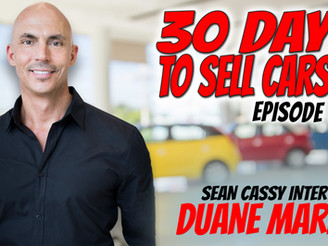 Sean Cassy Interviews Duane Marino