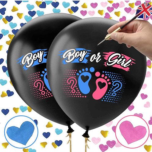 Giant Gender reveal Balloon set