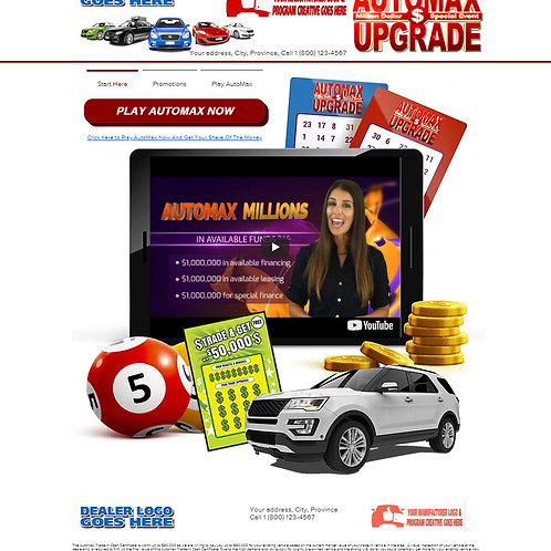 AutoMax Millions Upgrade Event
