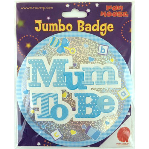 Mum to be giant blue badge