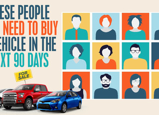 These People Have to Buy A Car in the Next 90-Days