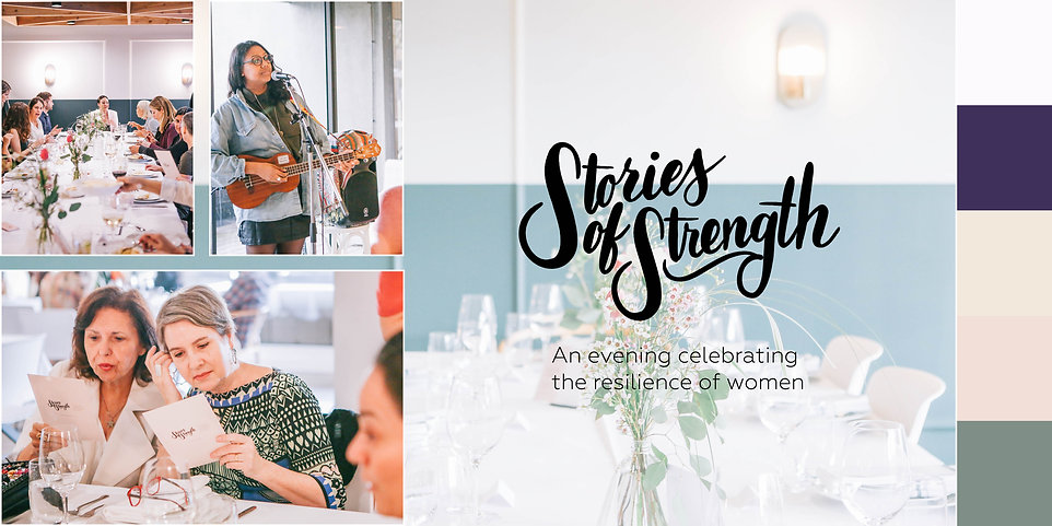 Stories of Strength Event - Case Study .
