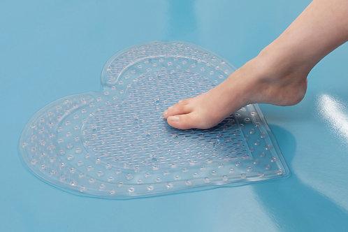 Tapete Corazón Antideslizante Baño