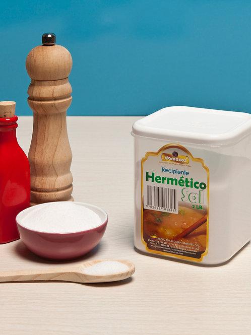 Recipiente Hermético para Sal
