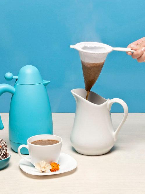 Colador Angosto de Tela para Café