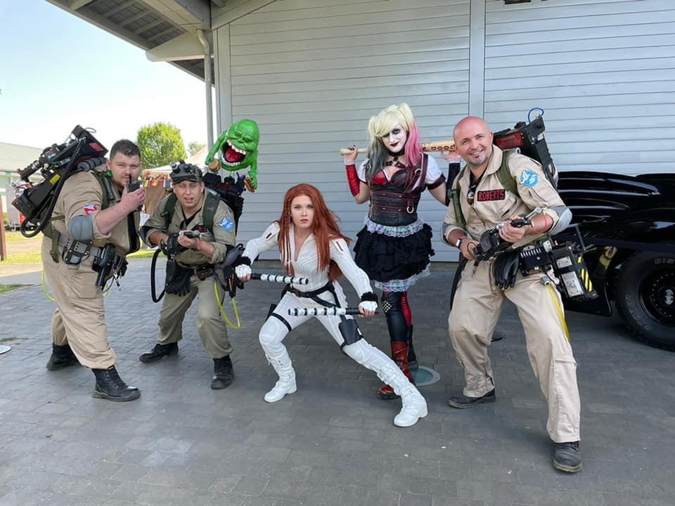 The Ghosbusters needed some extra help