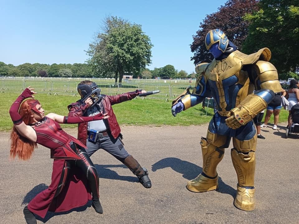 Taking on Thanos