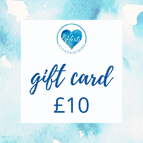 £10 Gift Card