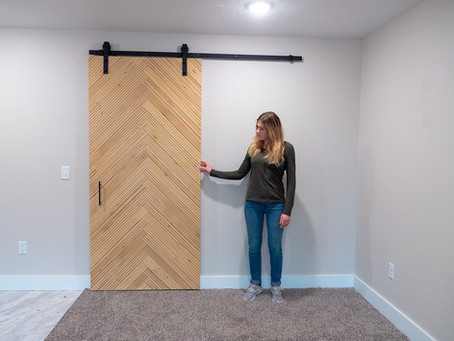 Selling a Modern Sliding Barn Door