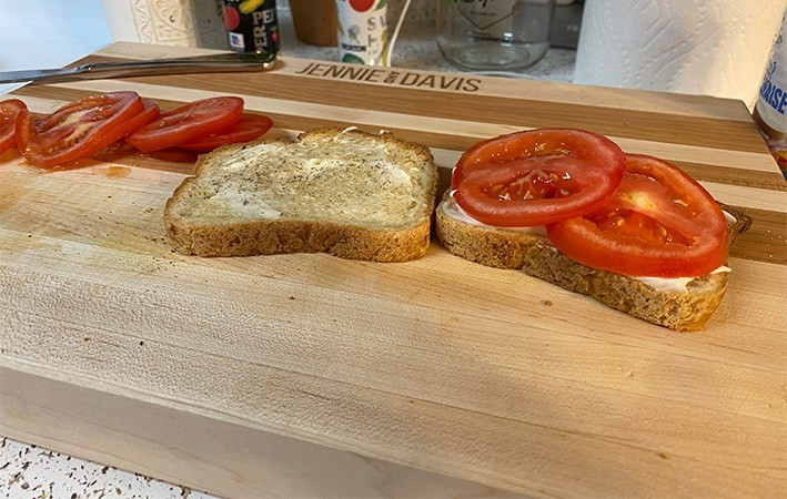 These cutting boards have plenty of room to hold whatever the home owner is cooking.