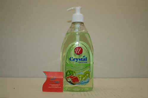 U Crystal Hand Soap Fresh Kiwi & Melon 13.5oz