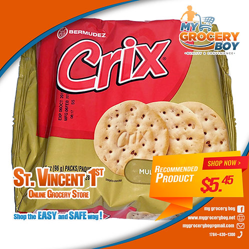 CRIX Multigrain Crackers