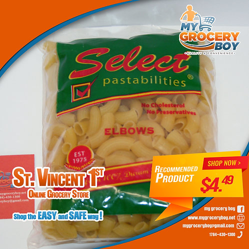 Select  Pastabilities Elbows 340g