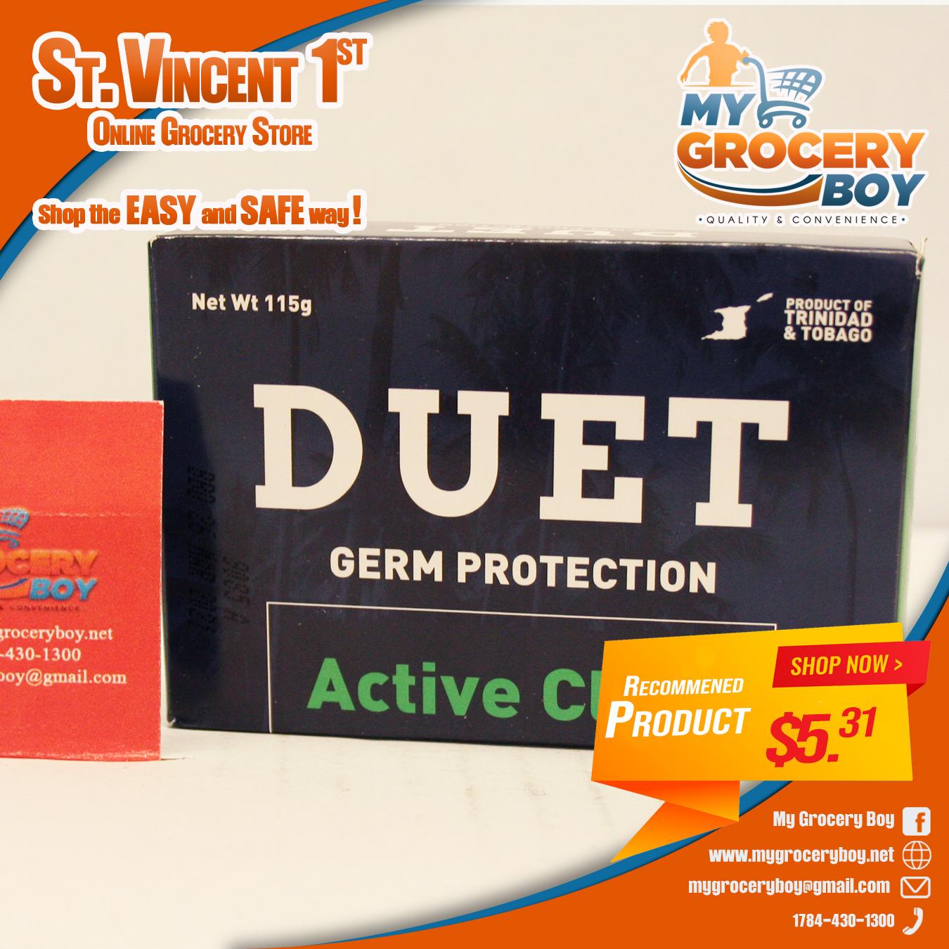 duet active clean