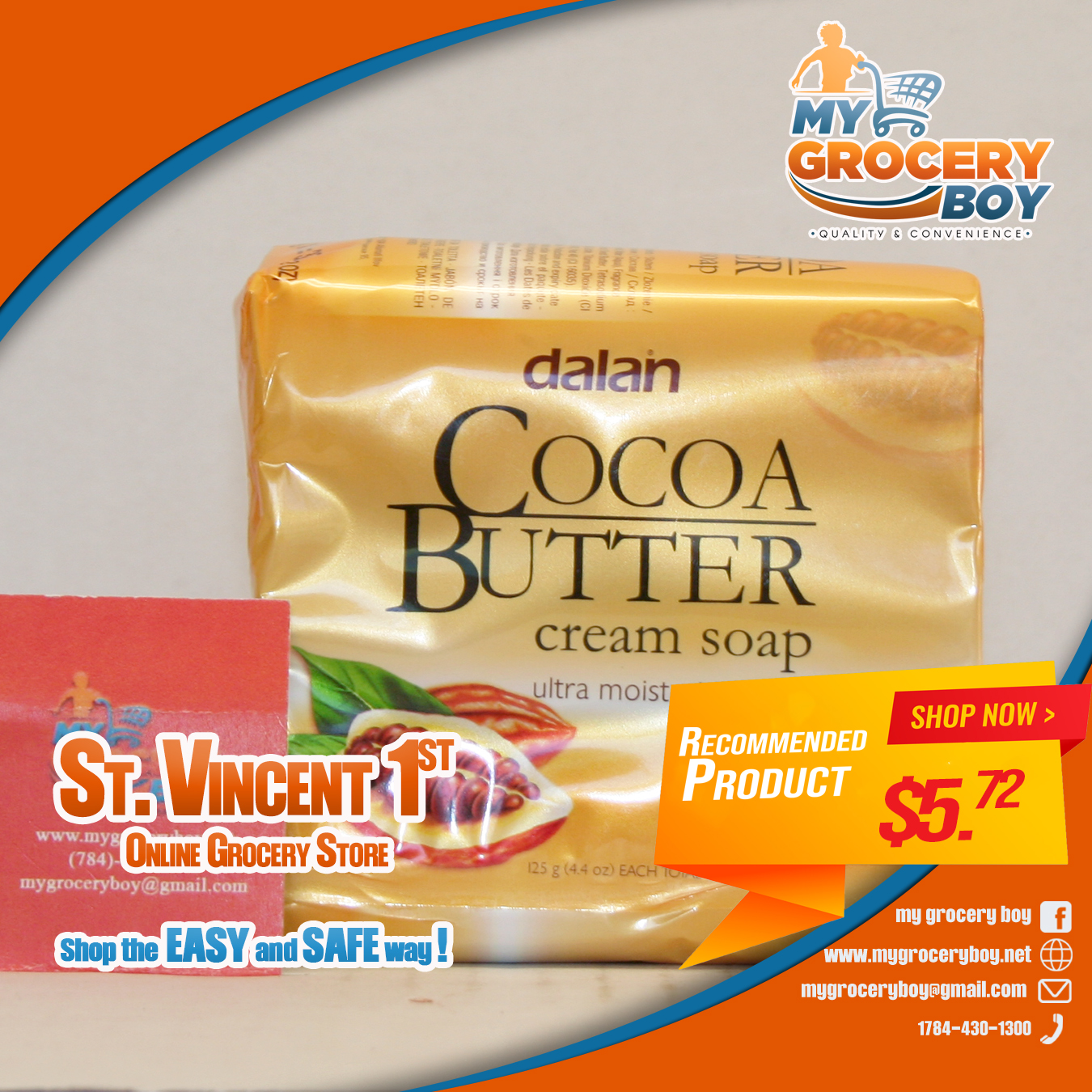 Dalan 3pk cocoa Butter