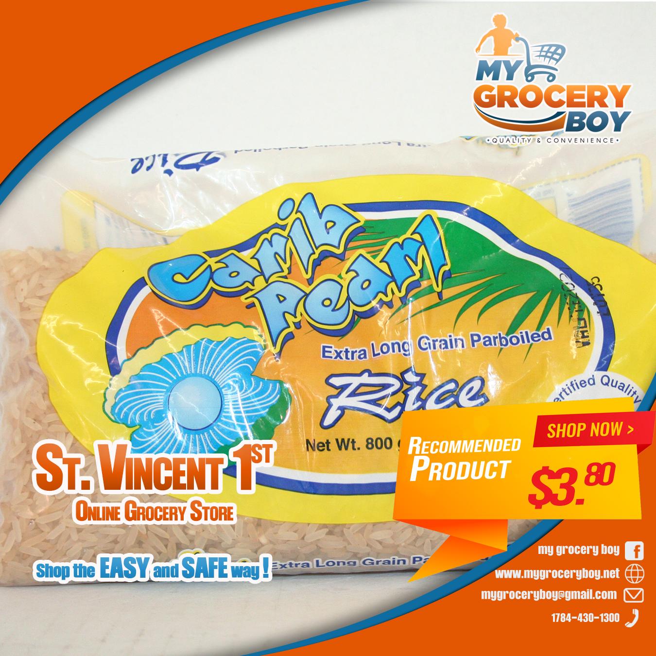 Carib pearl Rice 1lb
