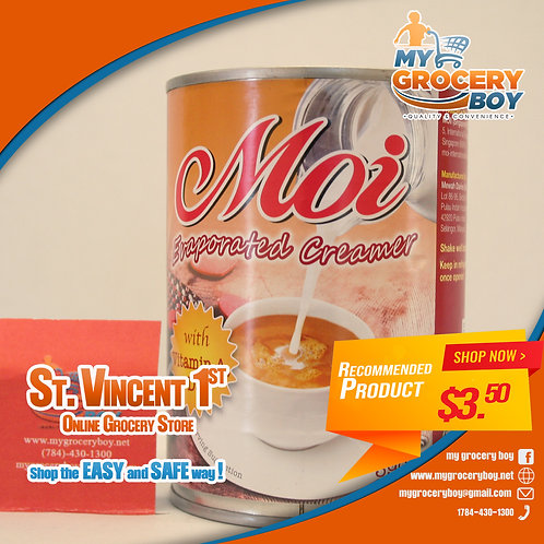 Moi Evaporated Milk 390g