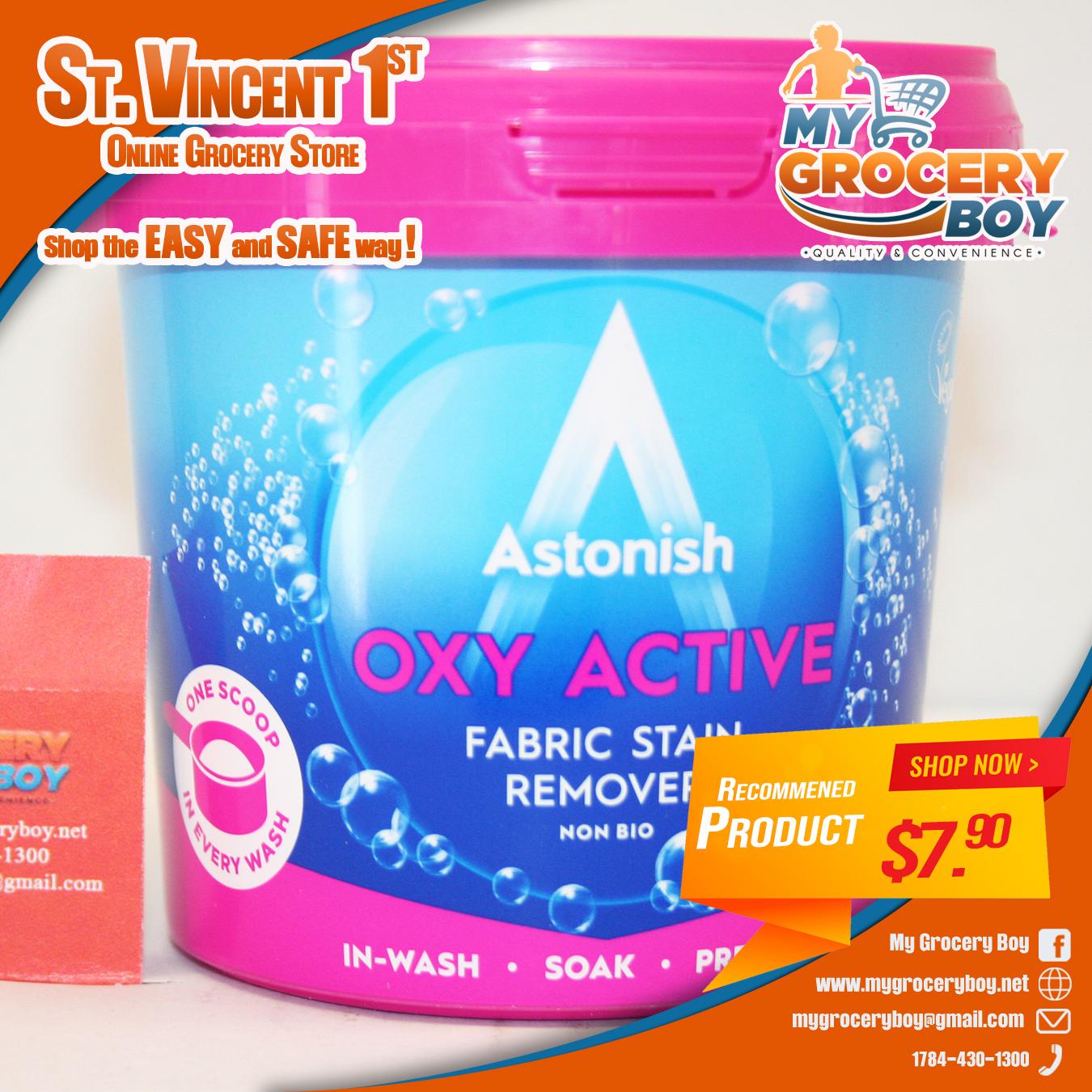 astonish oxy active