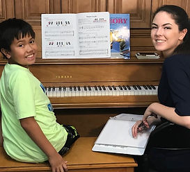 piano teacher in north county