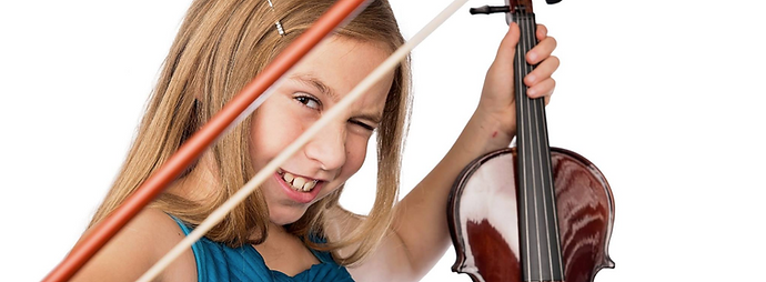 San Diego violin student picture