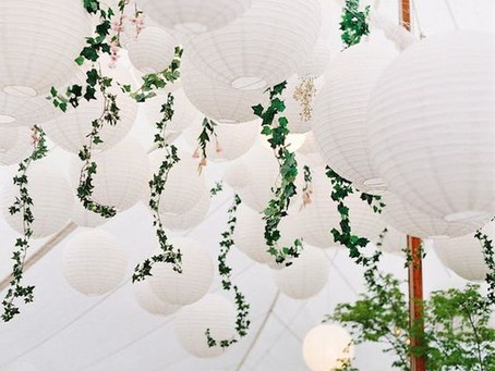NEW! Hanging paper lanterns