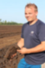 Peat producer from Finland with sod peat