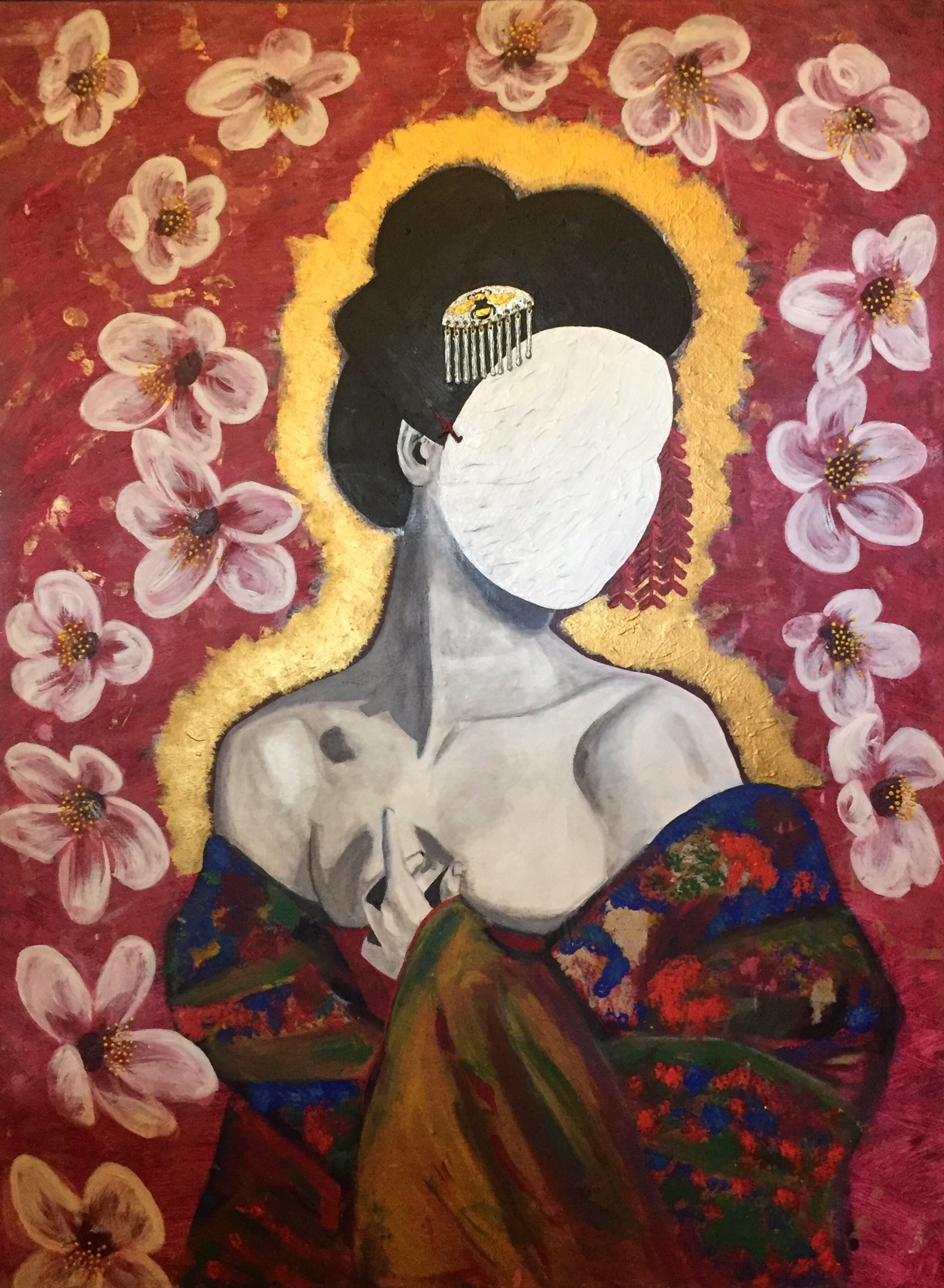 mask of a geisha