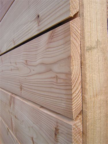 English cedar cladding