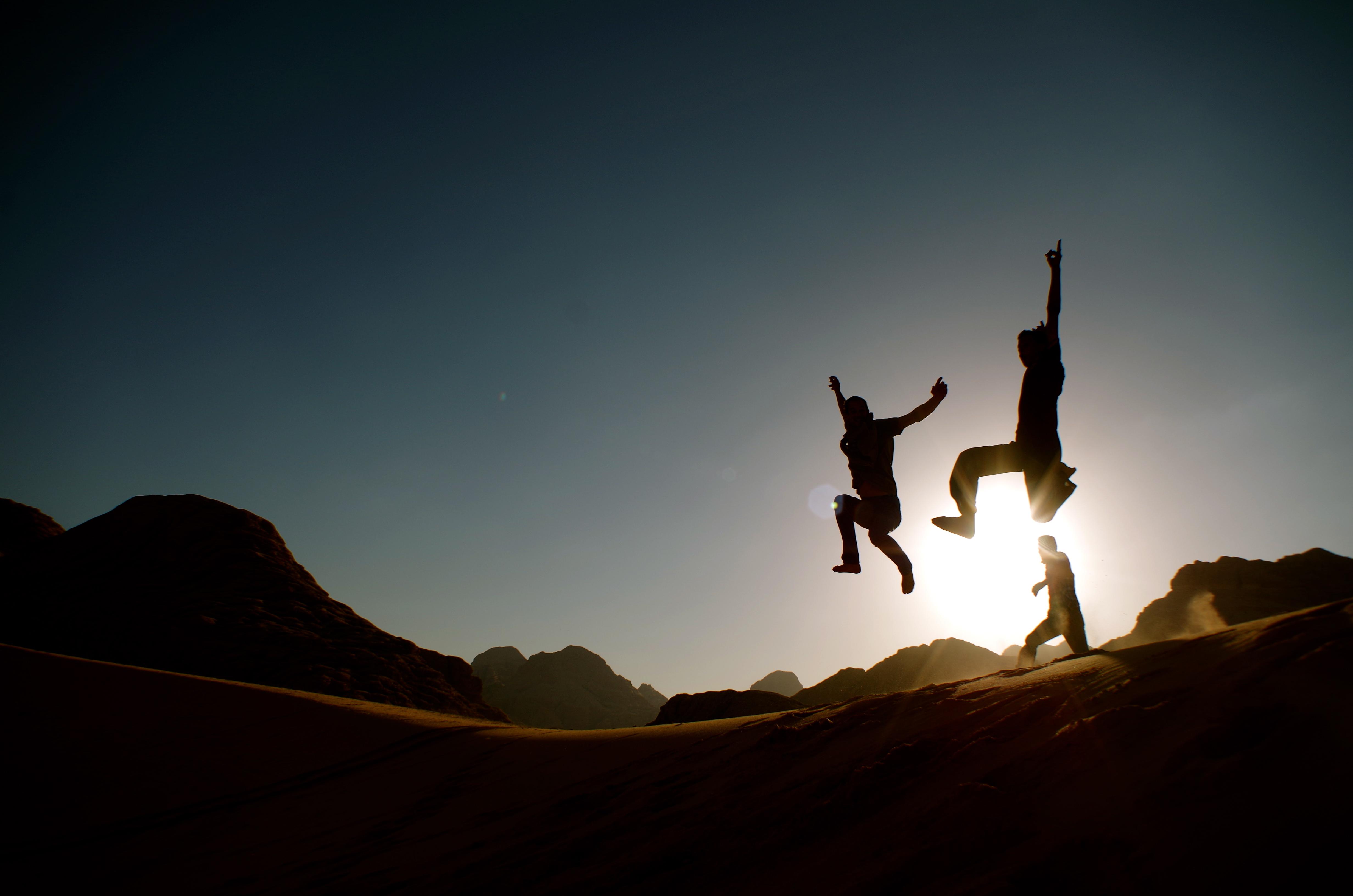 le désert wadi rum jordanie