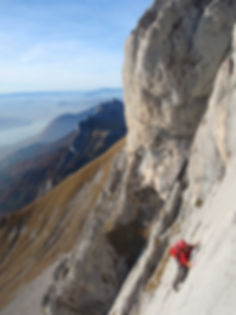 rock-trotteur.com escalade canyoning annecy guide alpes