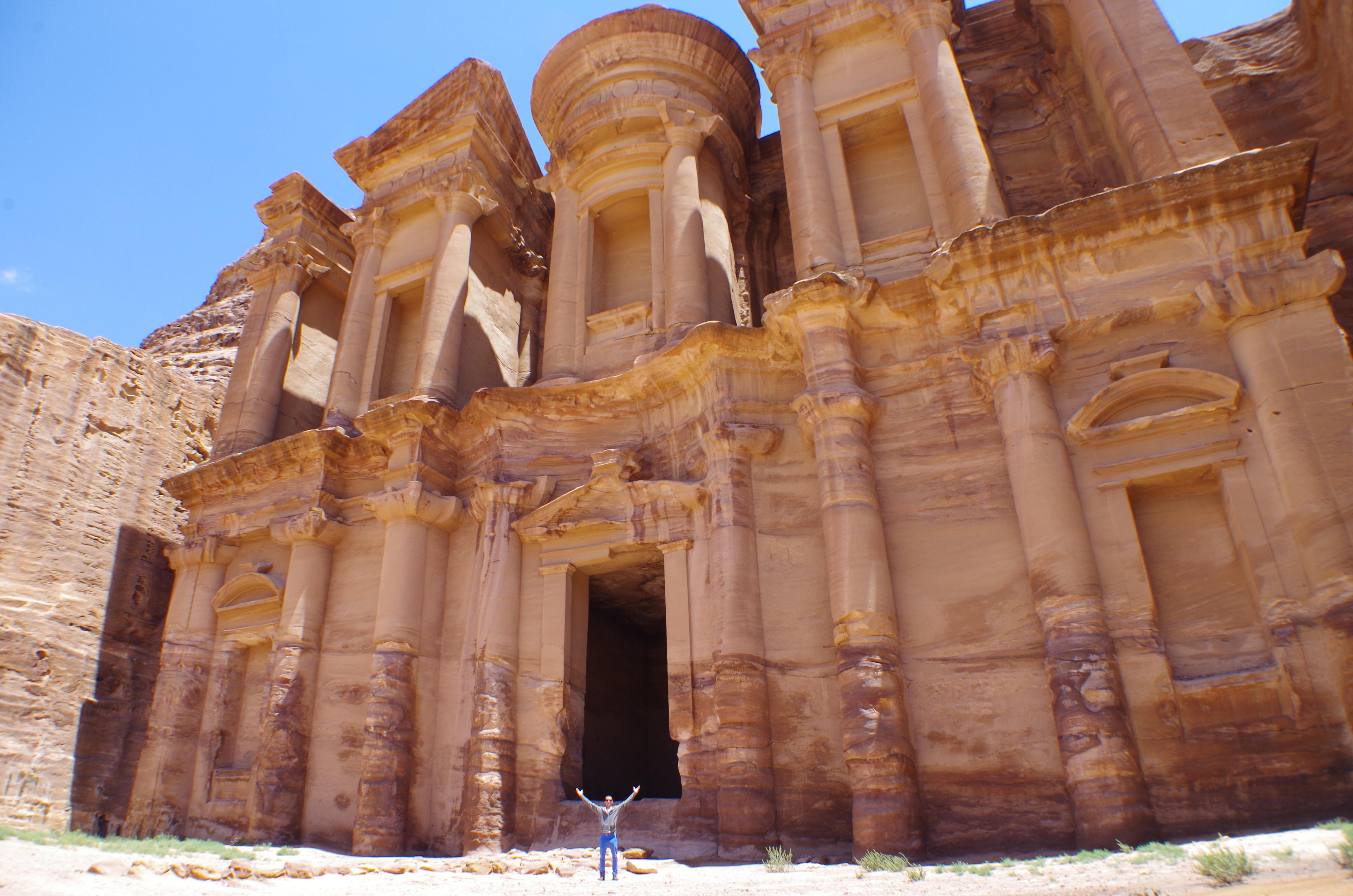 petra jordanie rock-trotteur