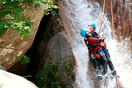 annecy canyoning