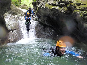 canyoning montmin annecy