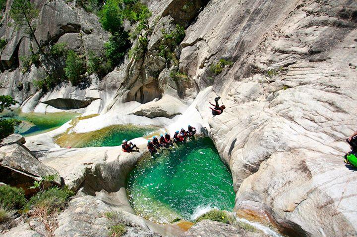 le canyon de la purcaraccia