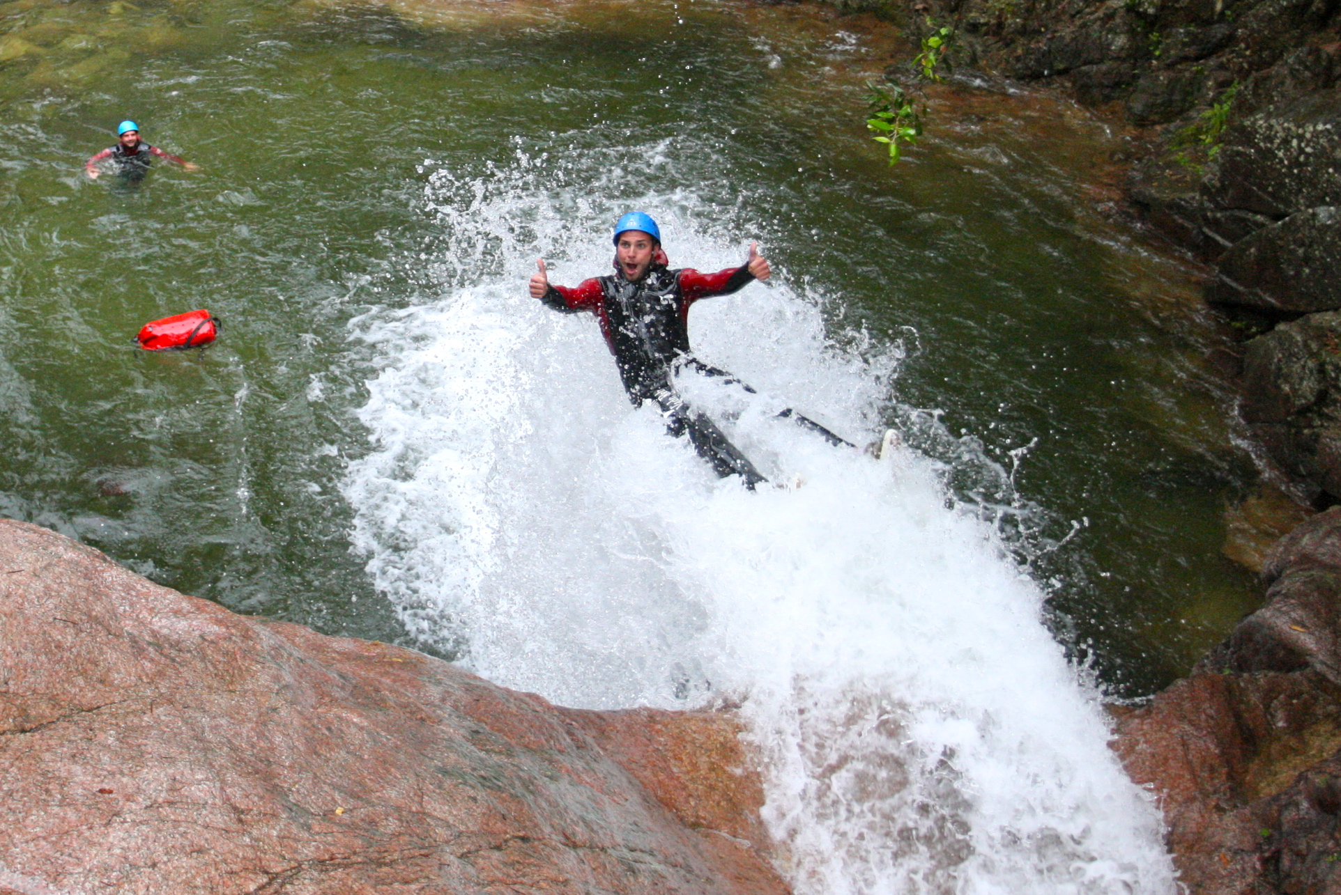 le canyon du pullischelu