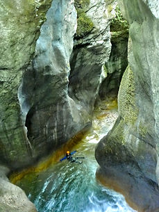 canyoning annecy pont du diable