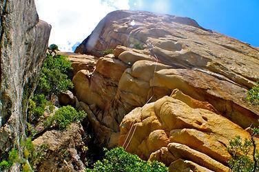 le granite sculpté de corse bavella rock-trotteur