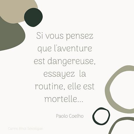 Si vous pensez que l'aventure est danger