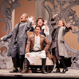 Count Almaviva Le nozze di Figaro Kentucky Opera 2020 pc: Bill Brymer