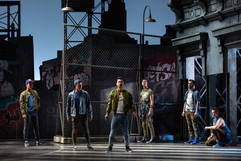 """West Side Story The Glimmerglass Festival, 2018 Karli Cadel  """"…while Brian Vu displayed excellent dance skills and a smooth, supple voice as an attractively jumpy Riff. His death scene was well managed."""" - Opera News"""