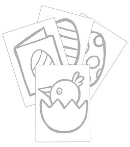 Mary Cousins illustration. chick. egg. coloring. free. download.Easter colouring pages.jpg