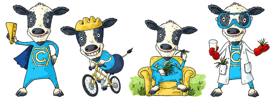Mary Cousins Illustration. Isle of Man. Cute character graphics. Connie the cow.jpg