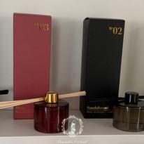 Luxe huisparfumflessen